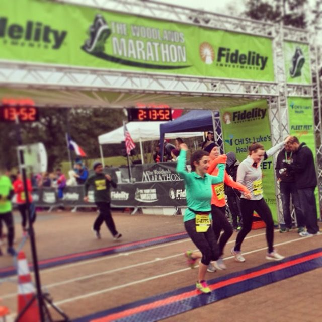 What it's like to run a #halfmarathon