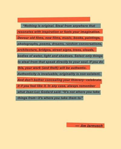 5° Rules / Jim Jarmush #jim #jarmush #poster #cinema #regista #creatività