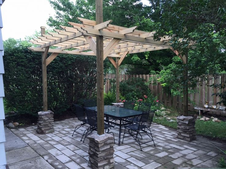 How to Build A Free Standing Porch Roof in 2020 Backyard