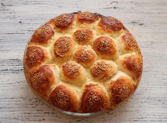 mutfakta Feyza var: Kaymaklı Dızmana Çöreği