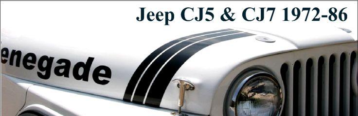 Jeep CJ5 Parts, Jeep CJ7 Parts, CJ8 Scrambler Parts from Midwest Jeep Willys