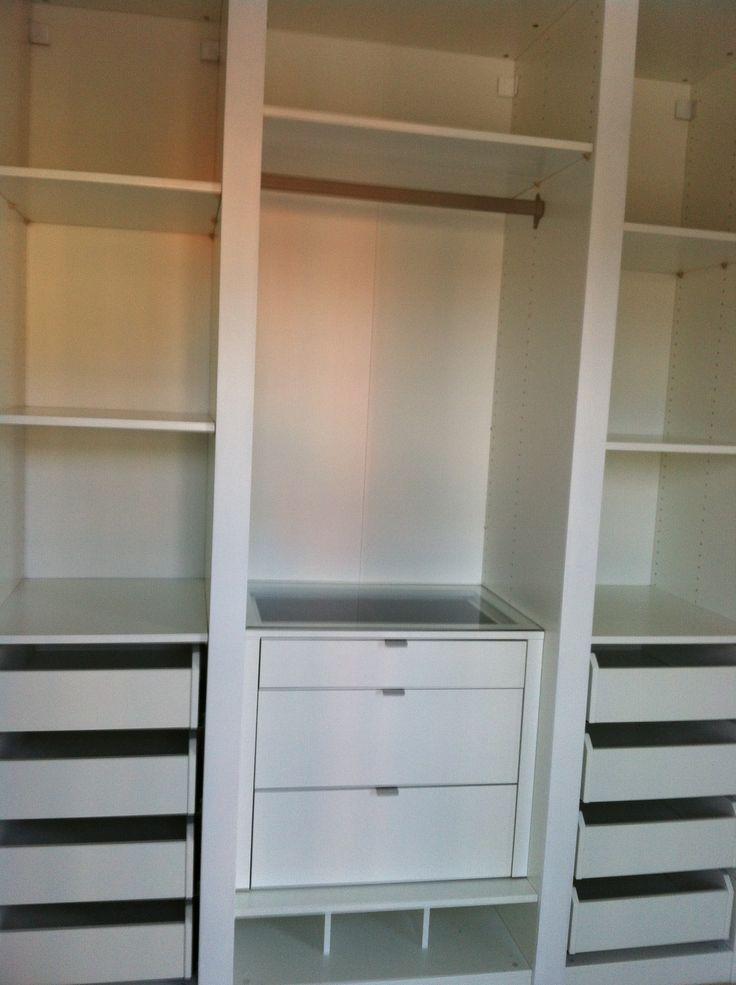 Ikea Built In Closet Hack Ikea Custom Closets Build A