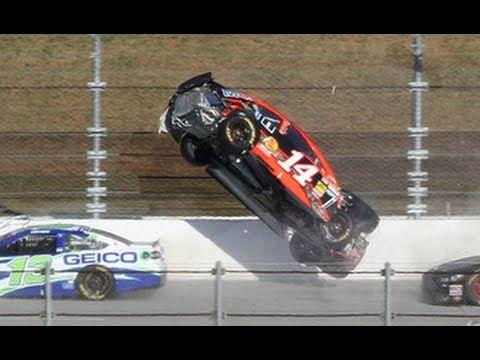 NASCAR Crashes 3 - YouTube