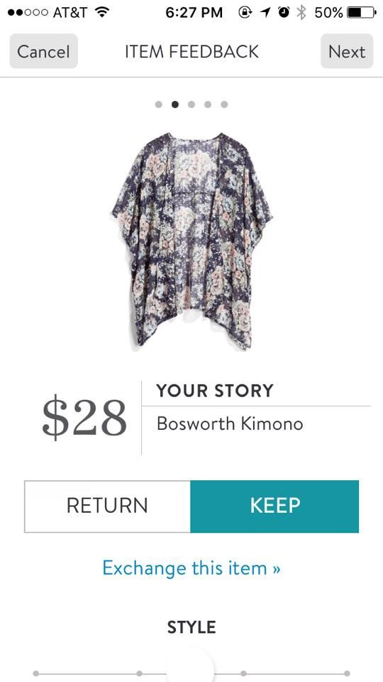 Stitch Fix Your Story Bosworth Kimono
