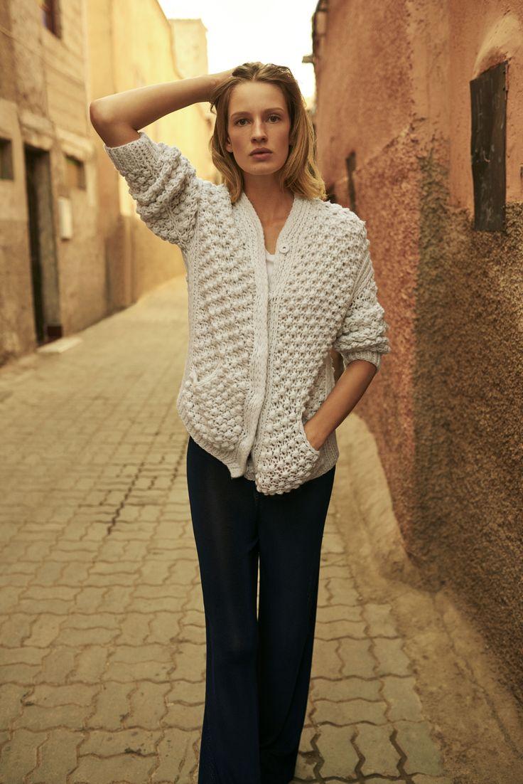 Cardigan Irene, SS17, Marrakesh
