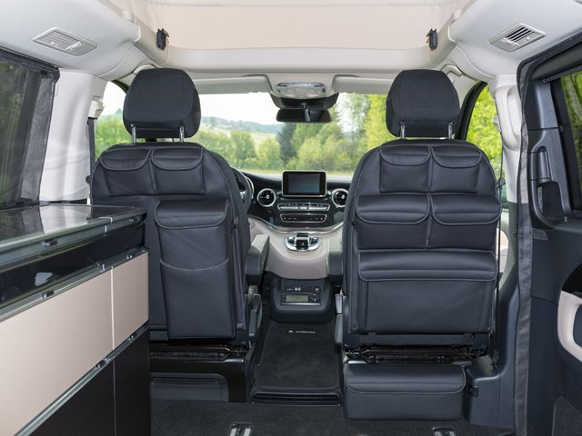 UTILITIES pour les sièges de la cabine conducteur Mercedes-Benz Marco Polo / Classe V