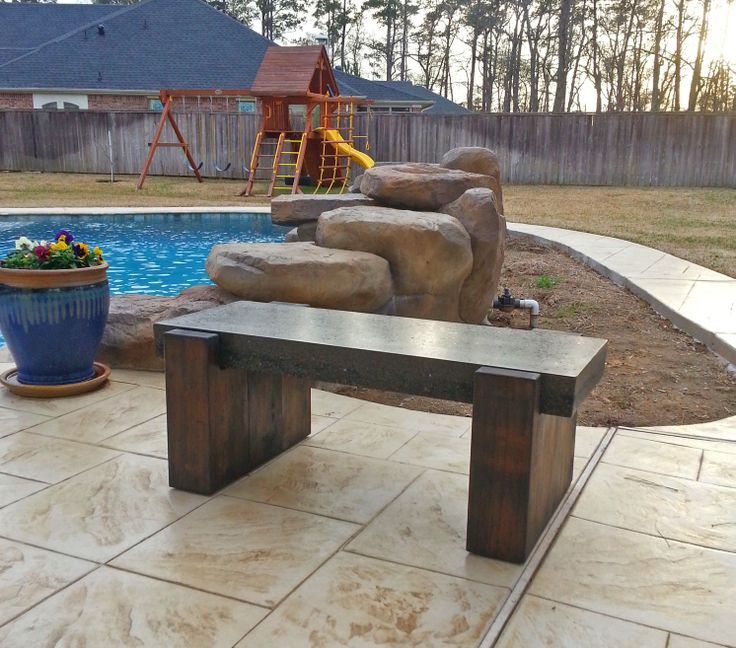 16 Best Images About G Dad Slabs Custom Concrete Tables On Pinterest Outdoor Benches Concrete