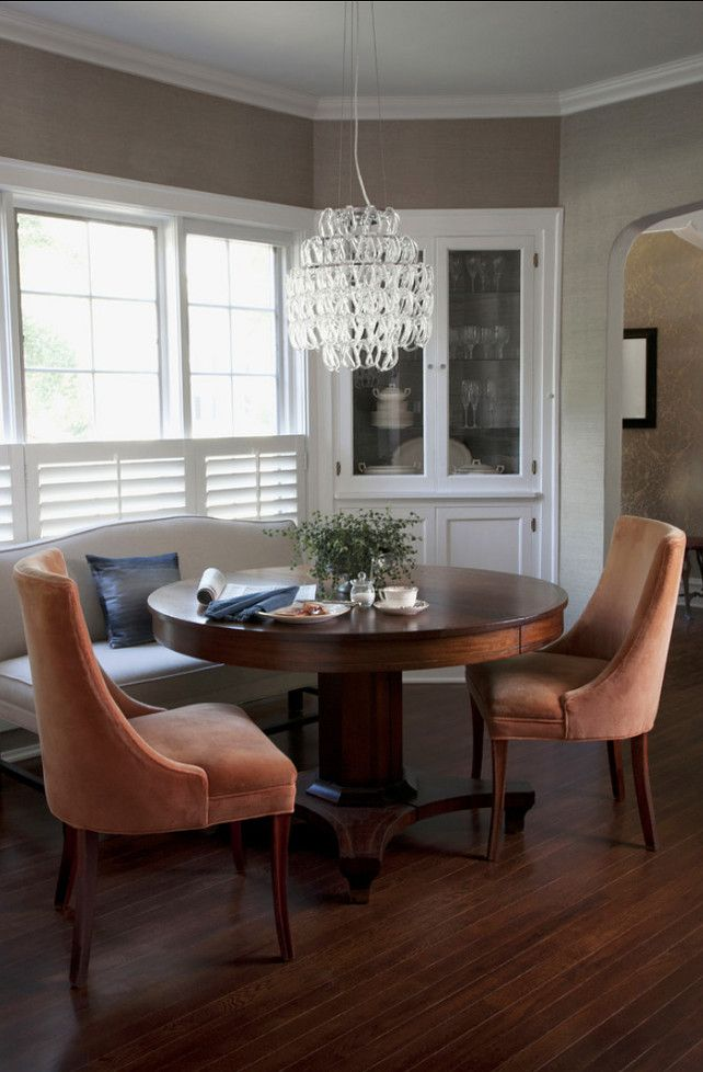 Solving For A Small Dining Room Diningroom Love This Pedestal Table