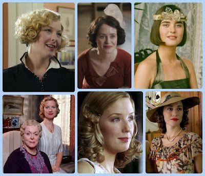 Elegance of Fashion: Wednesday: Guest Post by Melody and Miss Laurie - Historic Hairstyles - Period Drama Fashion Week