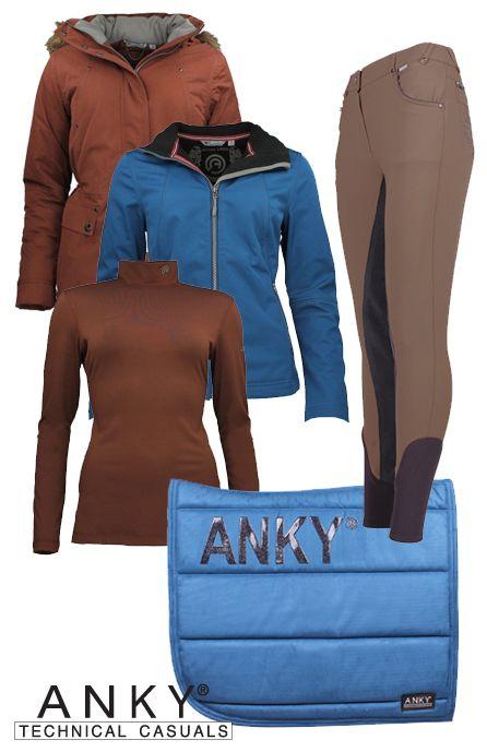 Anky Winter Blue-Brown #Epplejeck #anky #winter16 #brown #blue