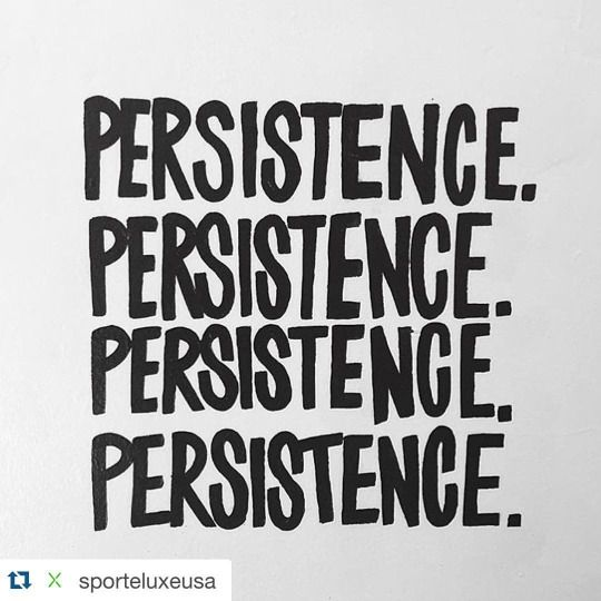 Persistence beats resistance  // www.fitinhub.com #persistence #sporteluxe via @tumblr #fitinhub #fitness #allenamento #gym #palestra #goal #workhard #workhardplayhard #persistence #active #mangiaresano #vatuttobene #positivevibes #pensopositivo #corporesano #fitup #quote #citazione