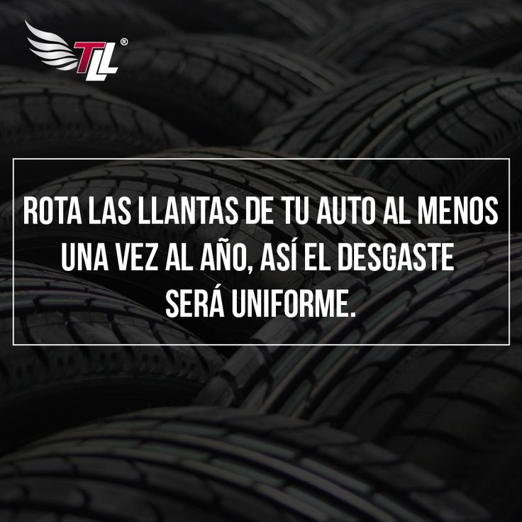 Rota las llantas de tu auto al menos una vez al año , así el desgaste de las llantas será uniforme. #tiendadellantas #motos #carro #seguridad #prevención #diseño #innovación #tecnología #motor #rueda