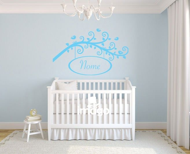 Wall Stickers Ramo con Tuo Nome