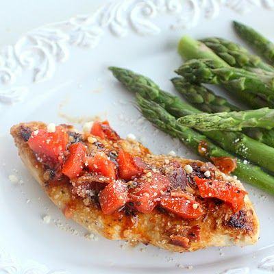 Healthy Sun-dried Tomato and Bacon Chicken | The Girl Who Ate Everything