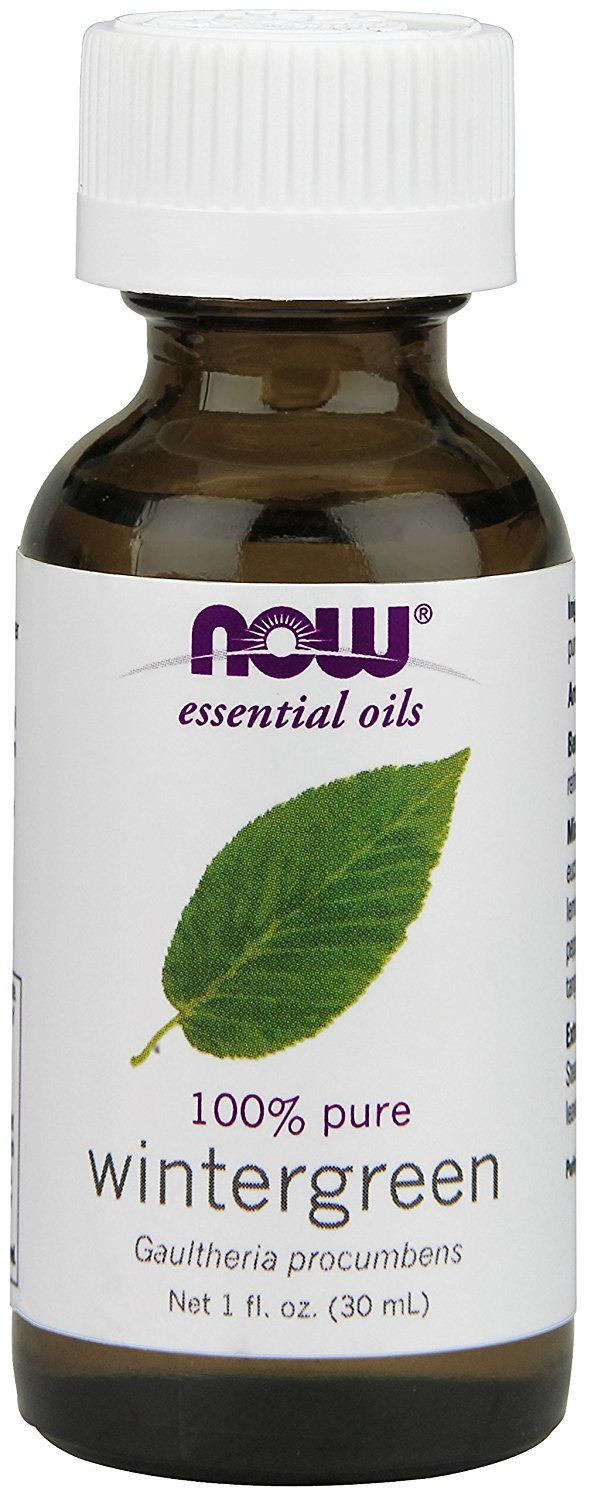 Wintergreen oil , 1 Fluid Ounce (Pack of 2) * Check this awesome image  : NOW essential oils