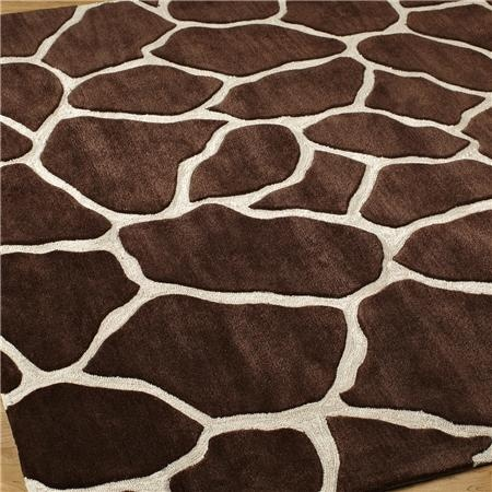 giraffe print rug for the bedroom. since zebra is everywhere else in my house. welcome to my own personal safari
