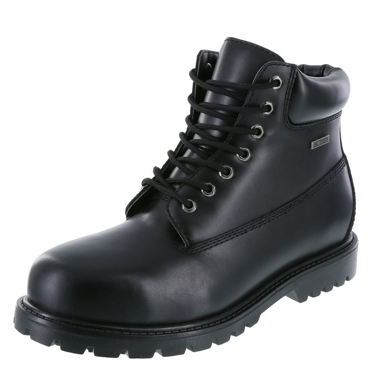 Men's Buster Waterproof Steel Toe BootMen's Buster Waterproof Steel Toe Boot, Black