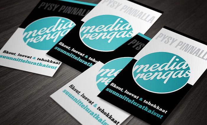 Mediarengas, businesscards