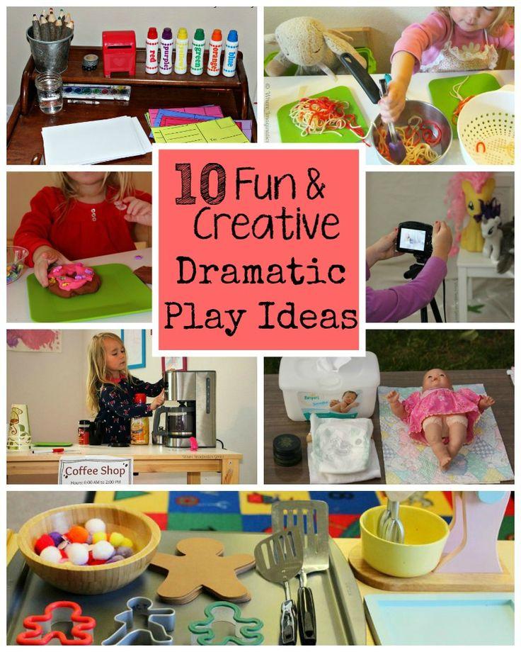 10 Fun Creative Dramatic Play Ideas For Preschoolers