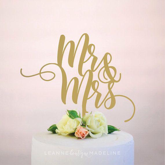 Fun Wedding Cake Toppers | The Garter Girl by Julianne Smith