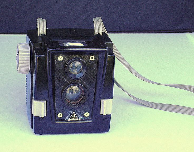 Vintage Tower Pseudo Twin Lens Reflex Camera by CanemahStudios on Etsy