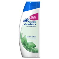 Head And Shoulders Shampoo Menthol 500ml