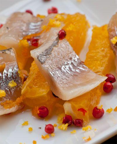 Apelsinsill med peppar