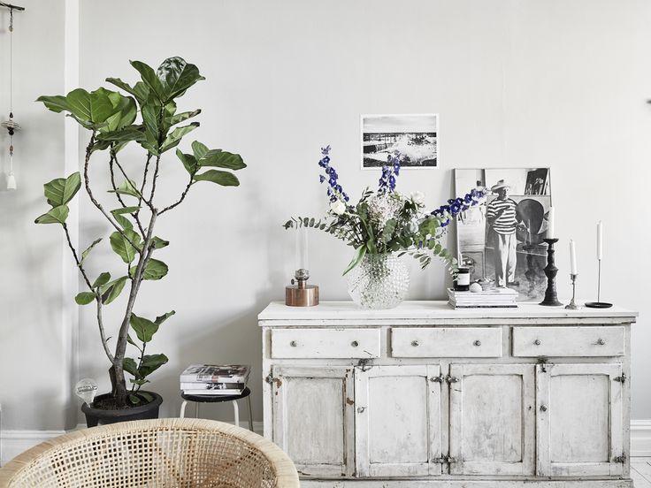 Jaloersmakend vintage interieur in het huis van een Zweedse styliste - Roomed | roomed.nl