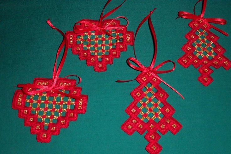 Hardanger Christmas Ornaments