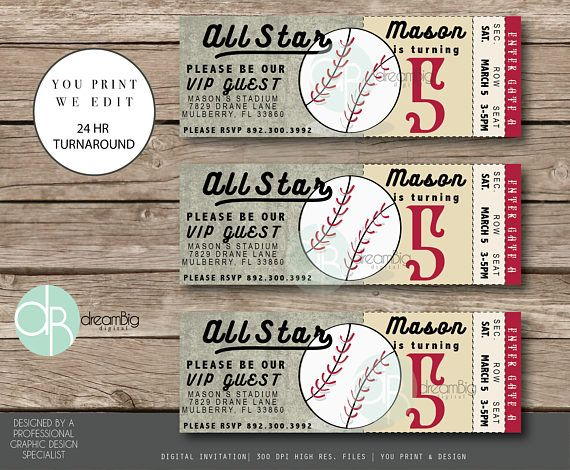 The 25+ best Ticket invitation ideas on Pinterest Baseball - invitation ticket