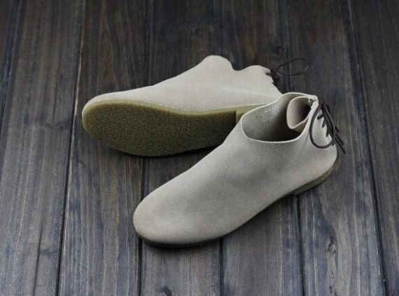 Handgearbeiteter flache Schuhe Damenschuhe Oxford flache