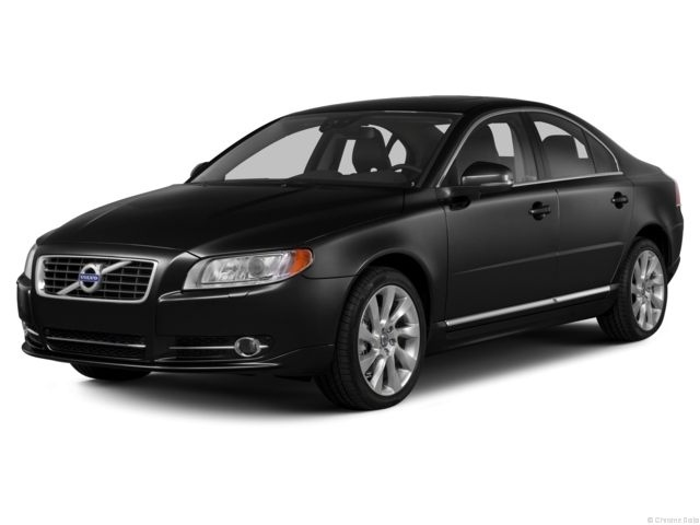 2013 Volvo S80 Sedan in Ember Black Metallic.