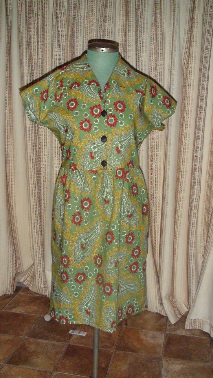 Kangaroo Dress {Made by Hour Glass Sewing}
