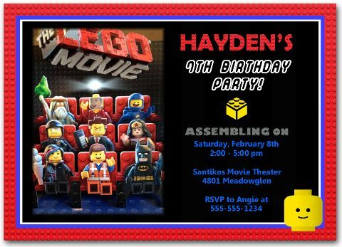 16 best Movie Birthday Party Invitations images on Pinterest - movie invitation template free
