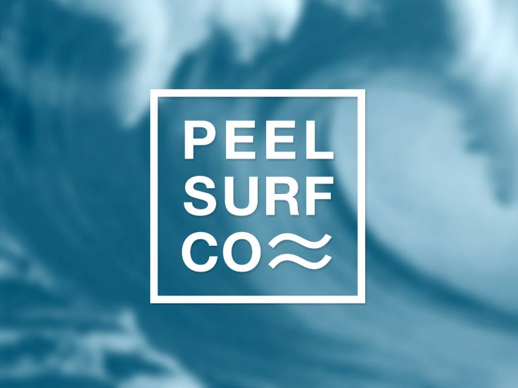 Peel Surf Logo