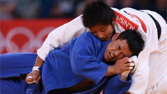 KOREA AND JAPAN 'FLIP OUT' IN JUDO MATCH