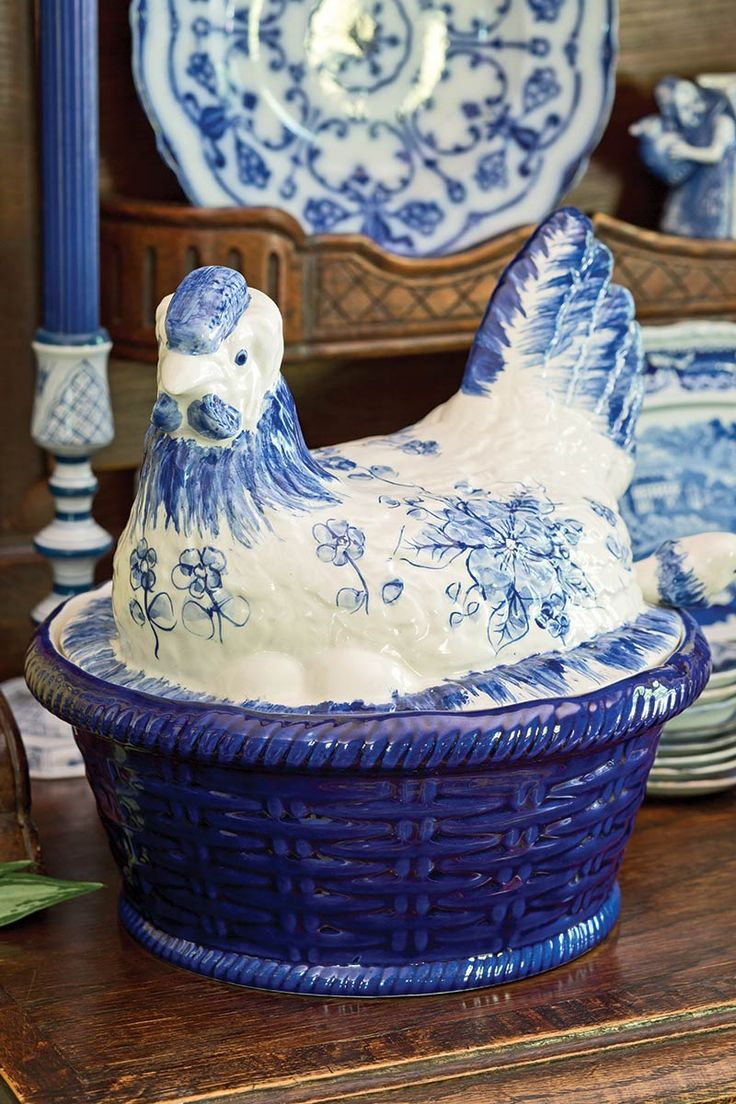 Blue-and-White China