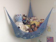How to Crochet a Toy Storage Hammock