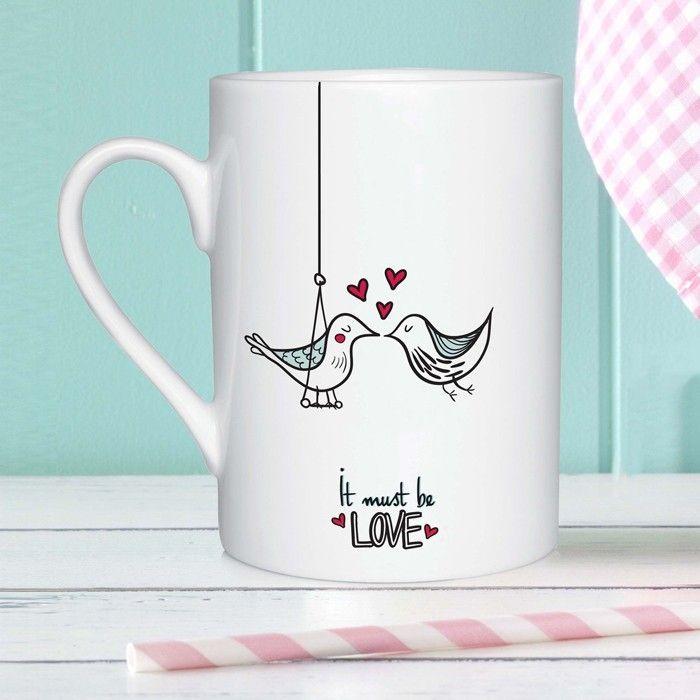 Romantische Ideen Und Happy Valentinstag Sprüche Kann Man Wunderbar Auf  Tassen Bedrucken Lassen Und Schnell, Günstig Und Sehr Individuell Sich Auf  Das Fest