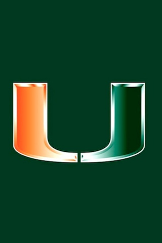 University of Miami, ugh I can't believe my school colours are gonna be orange and green soon... :P bleh