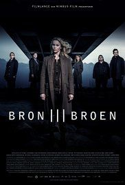 The Bridge - When a body is found on the bridge between Denmark and Sweden, right on the border, Danish inspector Martin Rohde and Swedish Saga Norén have to share jurisdiction and work together to find the killer.