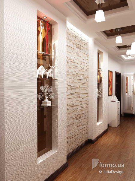 Прихожая со светлыми стенами, JuliaDesign, Прихожая, Дизайн интерьеров Formo.ua