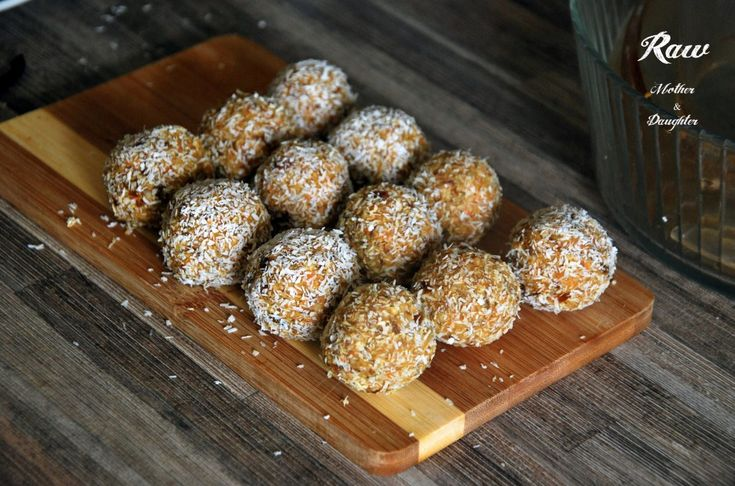 raw kokosove gulky
