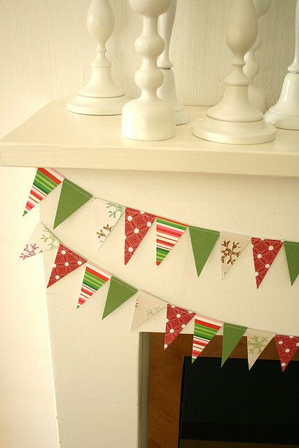 Christmas: bunting! mum would like christmas bunting  ^.^