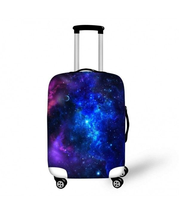 Suitcase Cover Galaxy Fantasy Space Luggage Cover Travel Case Bag Protector for Kid Girls