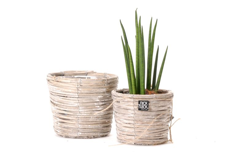 Pots made from willow reed // Κασπώ στρογγυλό κωνικό από κλαδιά ιτιάς. http://www.nicknack.gr/product/kaspo_stroggilo_koniko_kladia_itias_kec_027517/b2c_oikologika_xeiropoihta_idiaitera_fairtrade