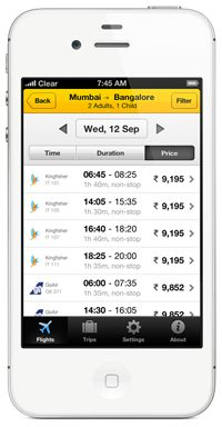 cleartrip - online travel app