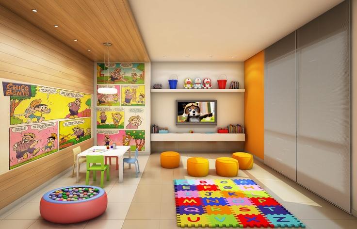 Edificio / Brinquedoteca / kids / play room / Architecture / Project / Building / Bohrer Arquitetura / Londrina / Brazil