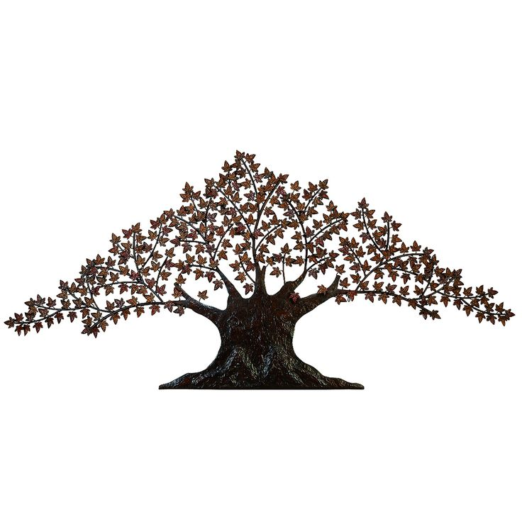 Large Metal Tree Wall Art 63 best metal tree wall art images on pinterest | metal tree, tree