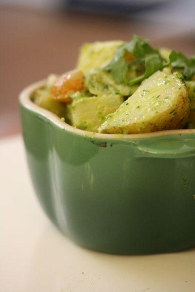 potato arugula pesto potato salads arugala pesto pesto salad salads ...